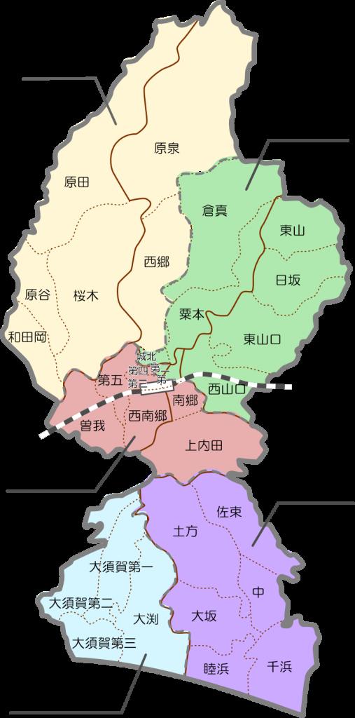 掛川市地図